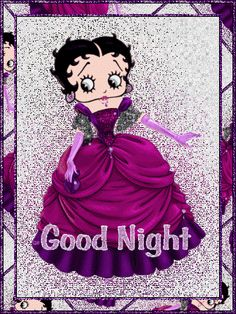 Betty Boop with a Beautiful Gone With The Wind style Dress