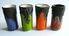 New pottery sixties/seventies style, for sale at Fennicole Miniatures