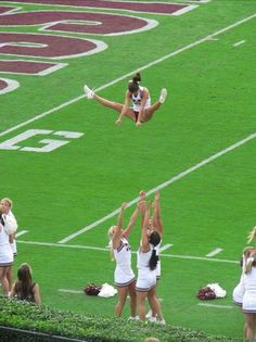 Great Basket Toss!  For tons of stunting tips, check out CheerleadingInfoCenter.com.     :-)