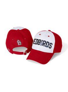 69347de3b264 St. Louis Cardinals Baseball Hat - Victoria s Secret Pink® - Victoria s  Secret Cardinals Hat