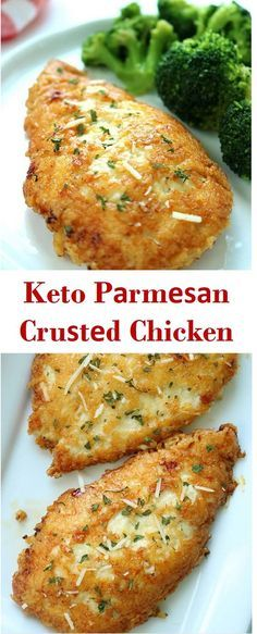 Here's Keto Pаrmеѕаn Cruѕtеd Chicken Recipes. This recipe is easy healthy and delicious. Here's Keto Pаrmеѕаn Cruѕtеd Chicken Recipes. This recipe is easy healthy and delicious. Ketogenic Recipes, Diet Recipes, Paleo Chicken Recipes, Easy Low Carb Recipes, Easy Low Carb Meals, Keto Recipes Dinner Easy, Ketogenic Diet, Low Calorie Chicken Recipes, Pork Rind Recipes