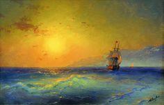 İvan Ayvazovski'nin Çarpıcı Romantik Resimleri: Deniz ve Gemi