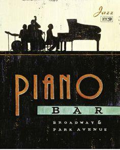 piano bar/ font