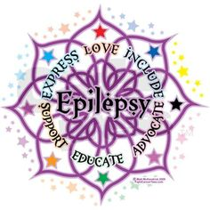 November is Epilepsy Awareness Month and the color is purple.  Love this design