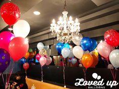 ホストクラブのバースデーイベント!風船いっぱいの出張デコレーション!バルーンデコレーション専門サービス|Loved up balloons