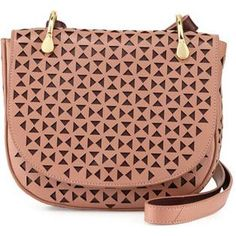 Elizabeth and James Zoe Perforated Saddle Bag as seen on Taylor Swift