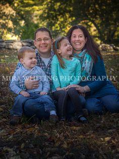 Happy family portrait | Mira Whiting Photography | Arlington, MA