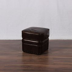 Distressed Brown Cube