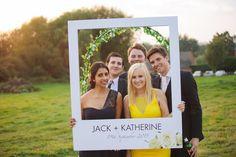 Polaroid photo booth - Sami Tipi Wedding - Image by Kathryn Edwards