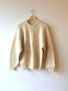 Ribbed Fisherman's Ribbed Wool Sweater Mens by flickaochpojke #menswear #mensfashion