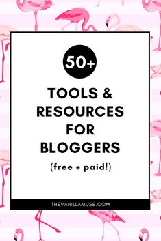 Let's face it: blogging is tough. There are so many things to keep up with, so many skills to develop, and so many new things to try. In fact, it can get plain out overwhelming at times. This list of tools & resources for bloggers will help cut some of that overwhelm and frustration! Click to find some amazing blogging tools!