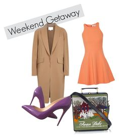 weekend getaway by annabaranovskaya on Polyvore featuring мода, Elizabeth and James, Alexander Wang, Christian Louboutin and Olympia Le-Tan