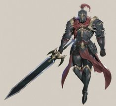 ArtStation - Personal work, Kang SooJeong Fantasy Male, Fantasy Armor, Anime Fantasy, Dungeons And Dragons Characters, Dnd Characters, Fantasy Characters, Character Poses, Character Design References, Character Art
