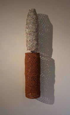 Petra Bittl, installation, earthenware