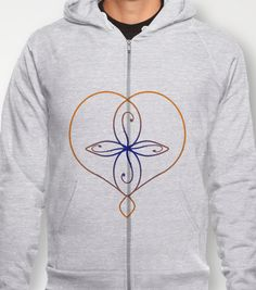 Eternal Love Hoody by UniqueableCreations -