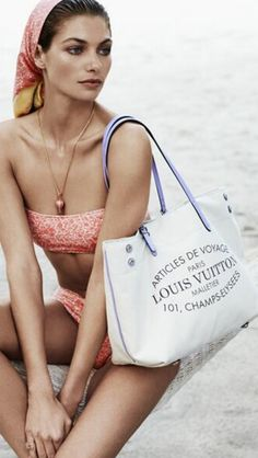 #Louis-Vuitton Summer Loving #LuxurydotCom
