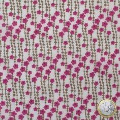 Fabric Inès pink, Anna Ka Bazaar - 13,90 €
