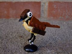 Fine pieces make fine birds
