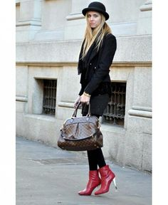 4c9f45b571f How to wear ankle boots  The Dos and donts of booties  lvhandbags  lv