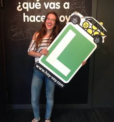 TERESA ROF!!! #hoyvoy #autoescuela #granollers
