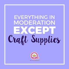 Craft Humor, Scrapbook Funny, Paper Crafting Meme
