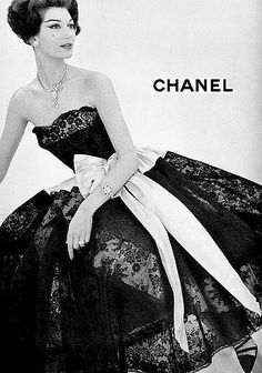 Two of my favorite things ~ Chanel & 1957!