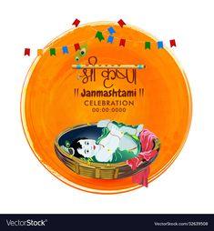 Om Namah Shivaya Mantra, Happy Janmashtami, Festivals Of India, Baby Girl Images, Lord Krishna, Business Names, Work On Yourself, Adobe Illustrator, Vector Free