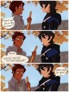 Klance Comics for the ppl - - None of the art on here is mine so yee dont Sue me All the Credit to the p - Voltron Klance, Voltron Memes, Voltron Comics, Voltron Fanart, Form Voltron, Voltron Ships, Voltron Cosplay, Dreamworks, Fandoms