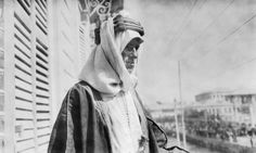 T E LAWRENCE 1888-1935 (Q 73534)   Colonel T E Lawrence on the balcony of the Victoria Hotel in Damascus on 3 October 1918, half an hour after he had resigned his position in the Arab Army.