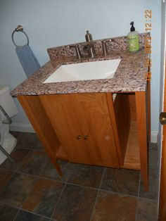 bathroom vanities made from recycled and reclaimed wood