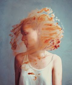 IRÉEL by Flora Borsi, via Behance