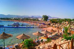 Naama Bay on the Sinai Peninsula  #Egypt #Naama #Bay #Sharm #Sinai