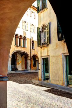 Via Paolo Sarpi .Udine.Italy