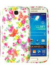 2014 DGOO Premium TPU Case Cover  for  Samsung Galaxy S4 mini i9190 ( Red rose and butterfly) $5.99
