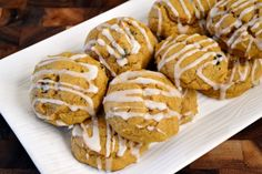 A batch of soft pumpkin cookies is an easy way to get your pumpkin fix — with plenty to share! Photo Credit: Aimee Seavey #pumpkincookies