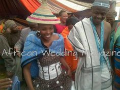 Sotho bride & Xhosa groom-- South Africa