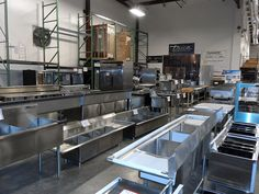 Chinese Restaurant Kitchen Equipment restaurant supply showroom pictures | arlington restaurant supply