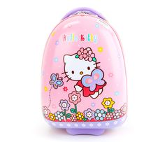 Hello Kitty Rolling Luggage: Butterfly