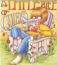 A Little Piece Of Quiet Reading Lawn Chair Fridge Art Magnet Mary Engelbreit Art