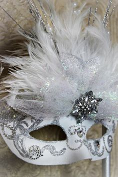 Hand made Mardi Gras Mask by KRea11 on Etsy, $69.95