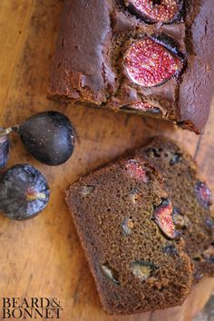 """""""Fig Chai Tea Bread (Gluten-Free and Vegan)"""" from """"Beard and Bonnet"""" -- Uses fresh figs."""