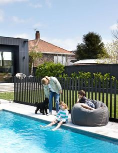 Having a pool sounds awesome especially if you are working with the best backyard pool landscaping ideas there is. How you design a proper backyard with a pool matters. Backyard Pool Landscaping, Pool Fence, Swimming Pools Backyard, Backyard Fences, Garden Fencing, Landscaping Ideas, Fence Around Pool, Glass Pool Fencing, Front Yard Fence