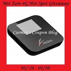 NetZero 4G Hotspot + 1 Year Mobile Service #Giveaway (US Ends 1/30)