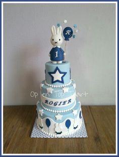 Miffy Birthday Cake (Nijntje taart)