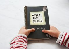 wreck this journal book