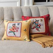 Aspiring Musicians Petit Point Pillows