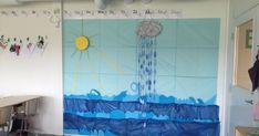 Vi har startat vårt vattentema och gått igenom vattnets 3 faser, (fast, flytande,gas) vattnets kretslopp, skillnaden på vågor och varför sa...