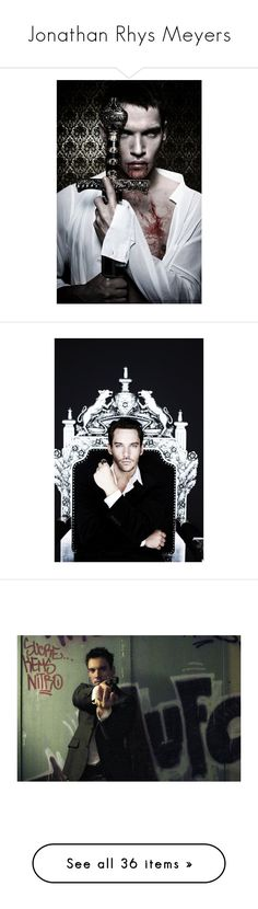 """Jonathan Rhys Meyers"" by imawkwardhey ❤ liked on Polyvore featuring people, home, home decor, parisian home decor, paris france home decor, paris home decor, accessories, tudors, jonathan rhys meyers and famous"