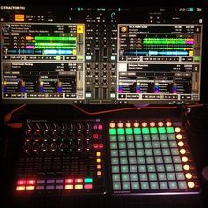 Finished mapping my Launchpad and LaunchControl XL to Traktor. They control 2 stem or standard decks and 2 remix decks. It was tedious but it is done and time to start the set for the show on Saturday. #geek #music #programming #success #midi #madscientist @wearenovation @traktor_dj @djtechtools
