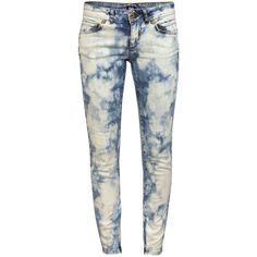 S50372SD813 Denim Jeans ($93) ❤ liked on Polyvore